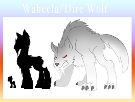 Eponia Dire Wolves, or Waheela by The-Clockwork-Crow