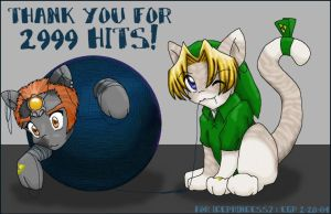 Thanks for 2999 hits by rydiahighwind