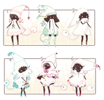 [CLOSED] ADOPT AUCTION 99 - Selva Spirits by Piffi-adoptables