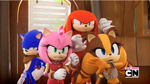 [Sonic Boom TV Series] Sonic Knuckles Amy Sticks by LuniiCookiez