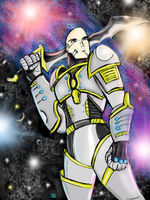 Sir Grave. Space Knight by EdisonRodgers