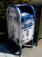 Official R2-D2 Mailbox by Augos