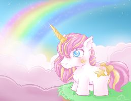 Pony Unicorn by Cilitra