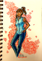 korra modernized by cottonball