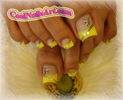 Nails On Toes by thientu83