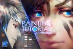 +Painting anime hair...download+ by Valentina-Remenar