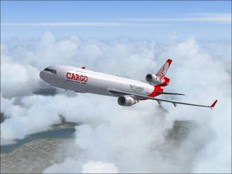 MD-11F Clouds by FlightCaptain