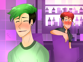 Cute Laugh [LATE PARTY SEPTIPLIER AU] by CaseyKeshui