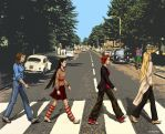 W.I.T.C.H. on Abbey Road by Klarika11