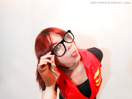 Hipster Claire Redfield :p by Queen-Stormcloak