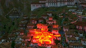 Burning Village (Fire Test) - Decent by KingFromHatena