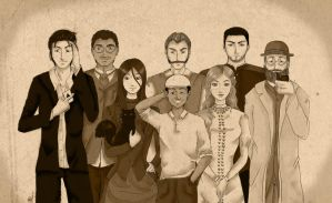 Call of Cthulhu - Group Photo by shafry