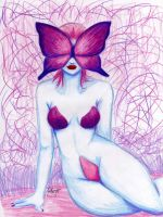 Butterfly Lady by PinkMartydom