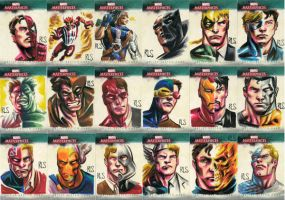 Marvel Masterpieces 3 89-106 by ronsalas