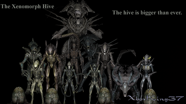 Xenomorphs by Xboxking37