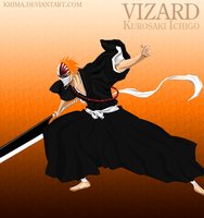 Vizard Ichigo by KhiMa