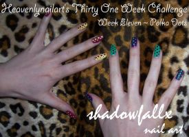Week Eleven - Polka Dots by shadowfallx