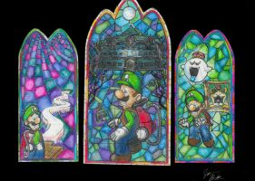 Luigi's Mansion by Vudujin