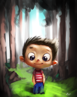 Kid Forest by 8kx