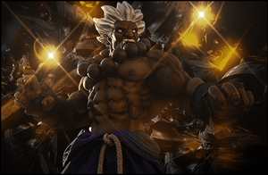 Street fighter Akuma by OriginalBoss