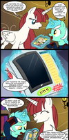 A gift for hearth's warming eve part 4 (Spanish) by Bro998