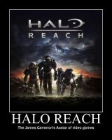 Halo Reach Motivator by novaburst16
