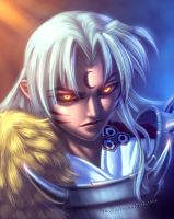 sesshomaru by xong
