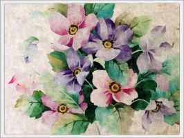 Flower Painting by Photoartistic26