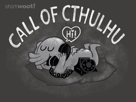 Shirt: Call of Cthulhu by annamariajung