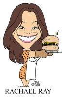 Rachael Ray caricature by JayFosgitt