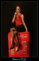 -+- Coke Pin Up 3 -+- by KellyLMartellPhoto
