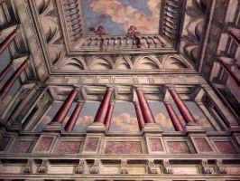 Painted Ceiling by Myrthilla