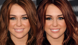 miley cyrus retouch. by lindsaaaay