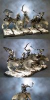 The Hounds of Naggarond by lilloser40K