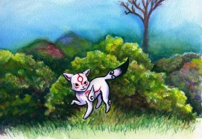 Ammy in the Bush by lokineko
