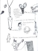 sketch dump from hell. by Crazychivez