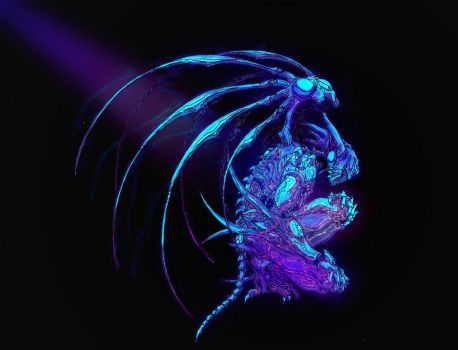 Genocyber Blacklight by 5bodyblade