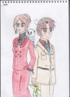 Romano, Fem!Spain and their Pokemon by SwiftNinja91