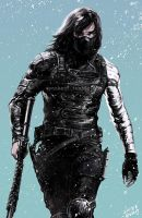 winter soldier by evankart