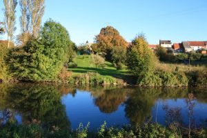 Autumn Colours on the Sambre by YunaHeileen