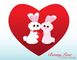 Bunny Love by creampuf