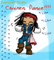 Jack does the Chicken Dance by Devain