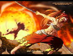 Fairy Tail 404 Coloring - she's too strong !!! by Gray-Dous