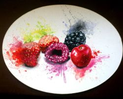 Fruit Salad Aquarell by turanneth