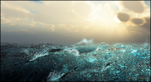 Tempestuous Sea by jbjdesigns