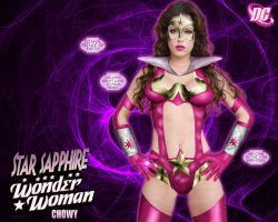 Wonder Woman Star Sapphire by chowyspizz