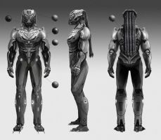 sci-fi concept art by CyrilT