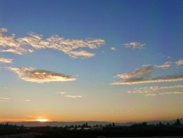 golden clouds by Tallon-1