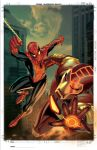 Spidey and Shell-Head team up by BroHawk