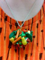 Healthy Katamari Necklace by nemuineko85